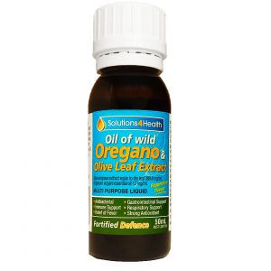 50ml Bottle – Oil of Wild Oregano & Olive leaf Extract – Fortified Defence